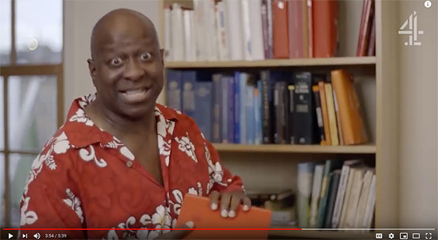 Dave Benson Phillips Stand Up For Cancer