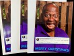 Signed Christmas Card